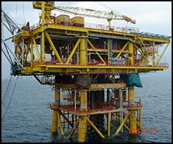 An offshore project